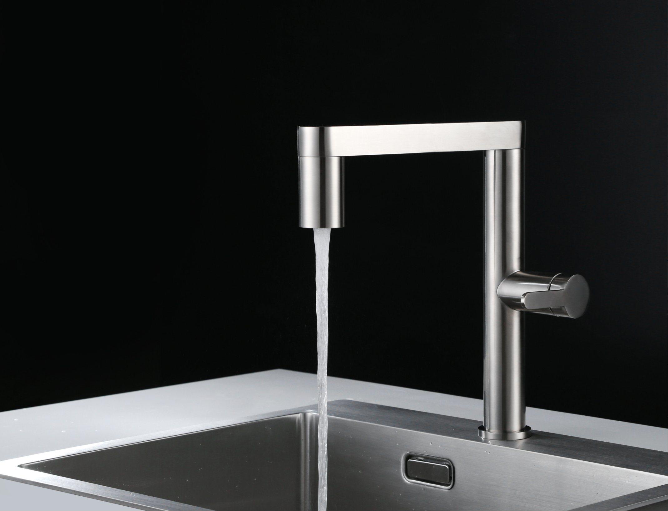 EU Modern Single Lever Swivel Kitchen Tap
