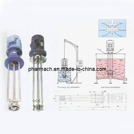 Ointment Centrifugal Vortex Emulsifying Machine
