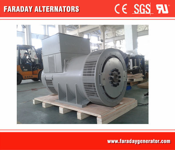 Outlet Alternator 2750kVA/2200kw Double Bearing Brushless Generator, IP44 H Class Alternator