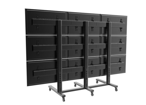 "Video Wall Stand 9 Screens 40-55"" (3*3) (AW 900)"