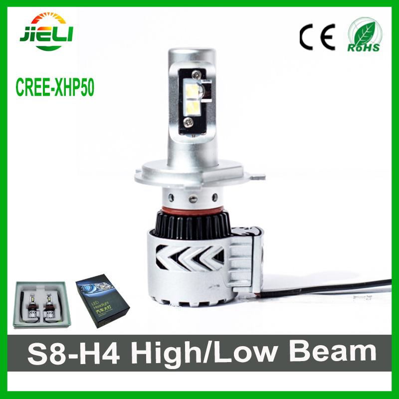 Ultra Bright 60W H4 H/L Beam CREE LED Car Head Light