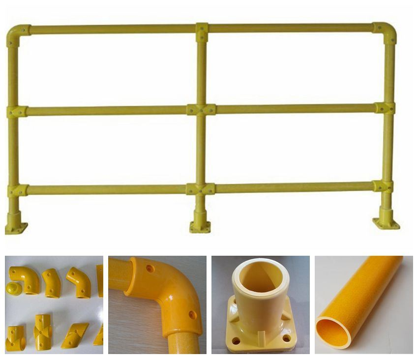 GRP FRP Fiberglass Glassfiber Plastic Fence Post