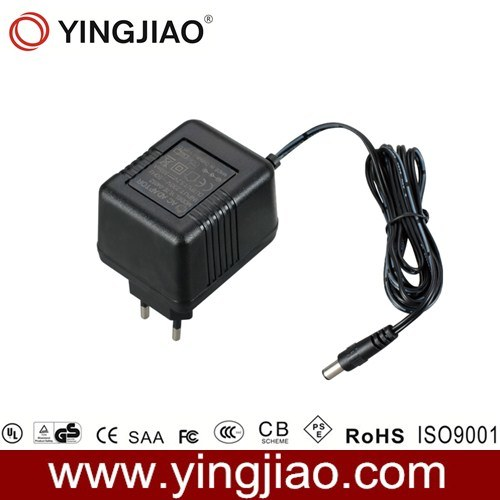 7W AC Plug in Linear Power Adapter with CE