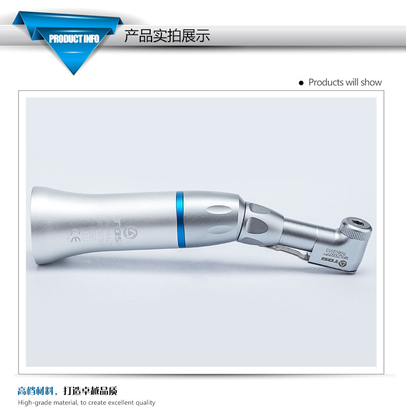 Tosi Low Speed Contra Angle Ball Bearing Dental Handpiece Equipment