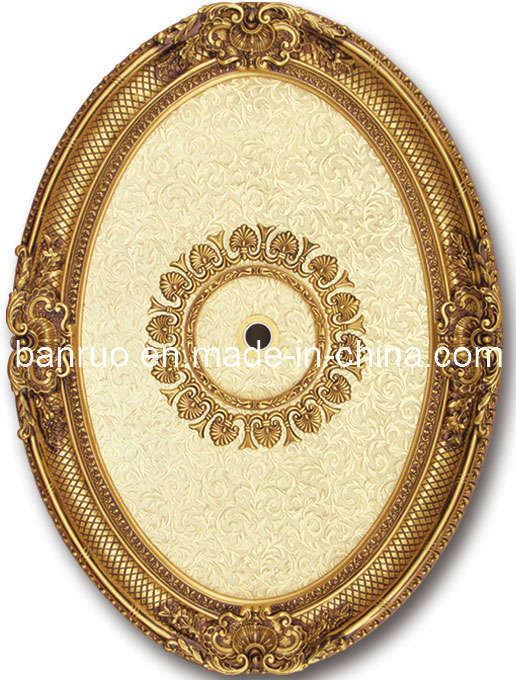 Fiberglass Artistic Luxurious Ceiling Medallion for Russia (BRRB0811-F-088)