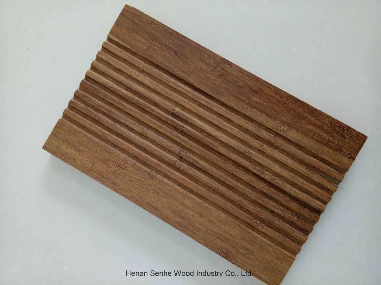 Strand Woven Bamboo Flooring, Outdoor Bamboo Flooring, Light Carbonized 18mm