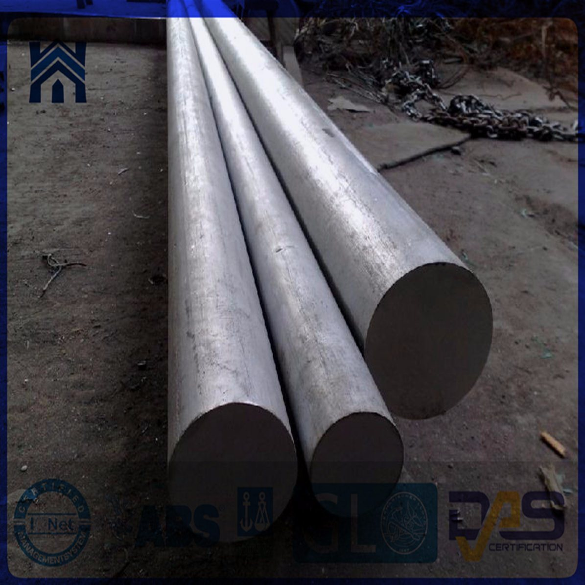 Hot Forging Steel Round Bars Alloy Steel C45cr/En24,