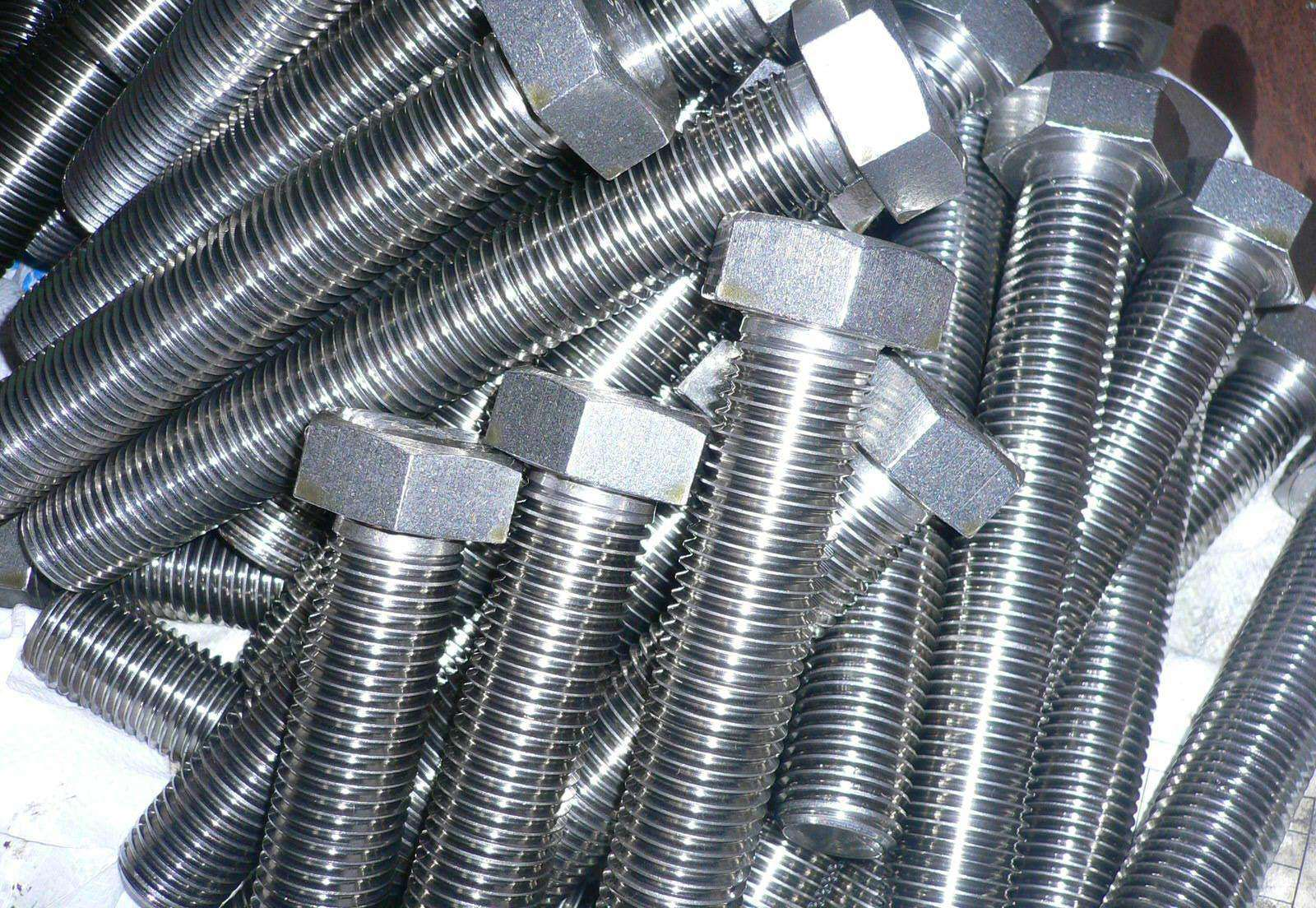 High Quality Hex Bolt, Hexagon Head Bolt.