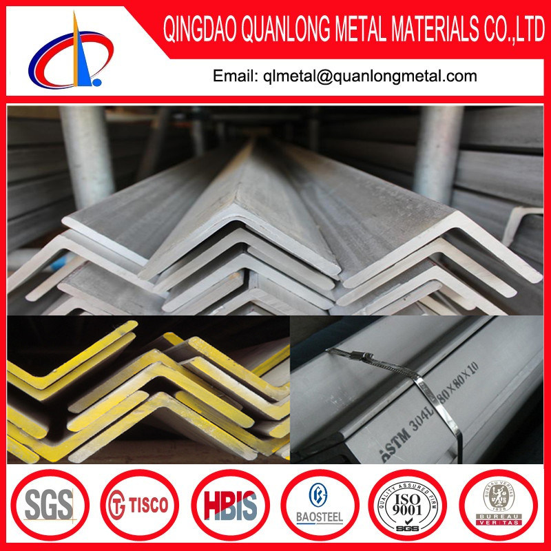 201 304 316 390 Stainless Steel Angle Iron Weight
