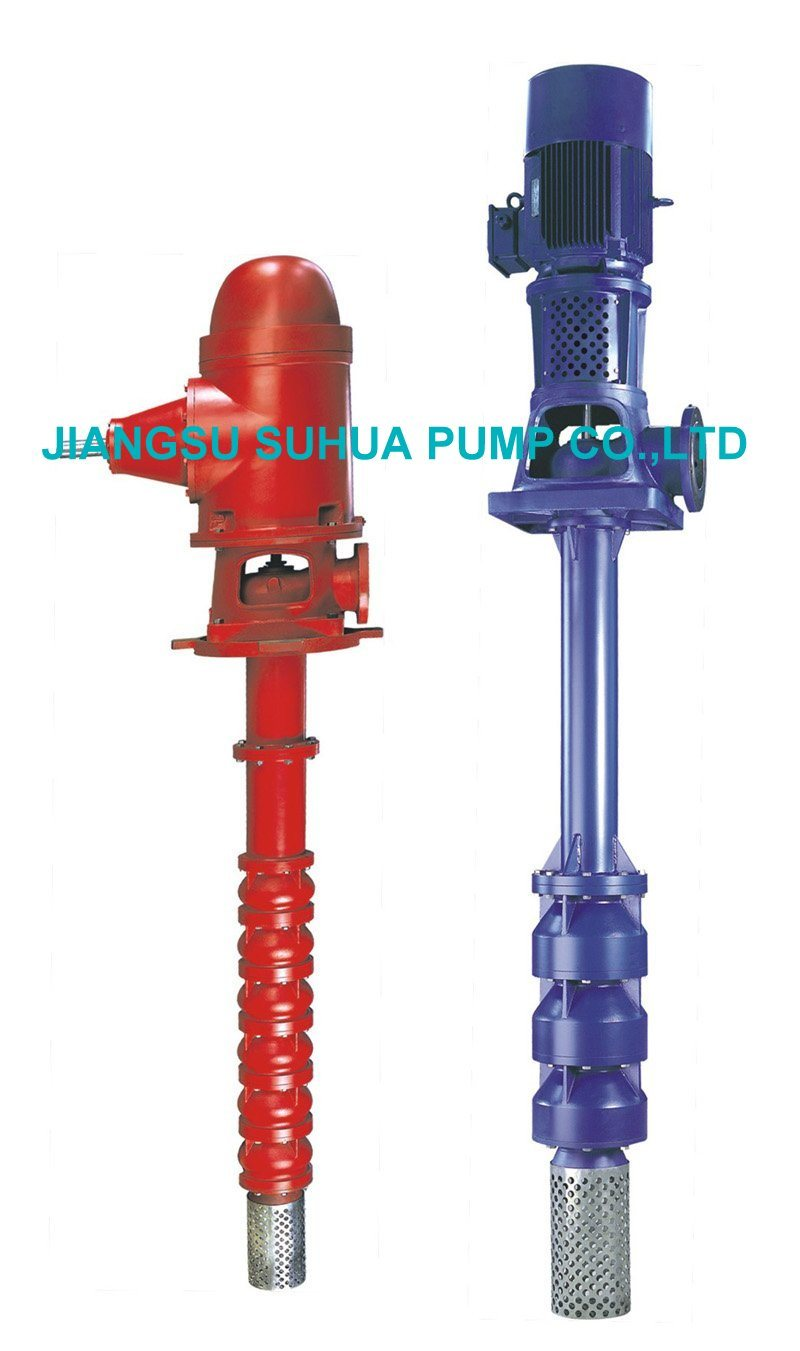 Vertical Turbine Pump of Sewage Containing Solid Particles