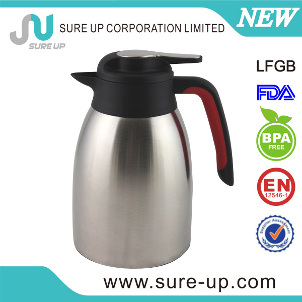 New Design Double Wall Stainless Steel Thermos Vacuum Flask Coffee Pot
