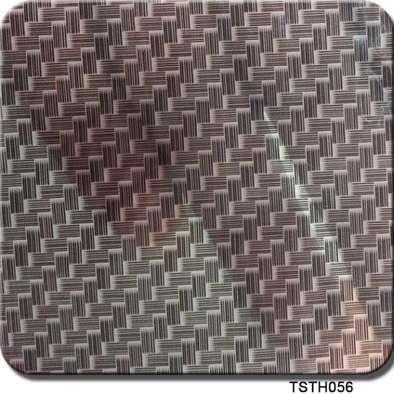 Tsautop Tsh056 1m Width Carbon Design Aqua Print Hydrographic Film
