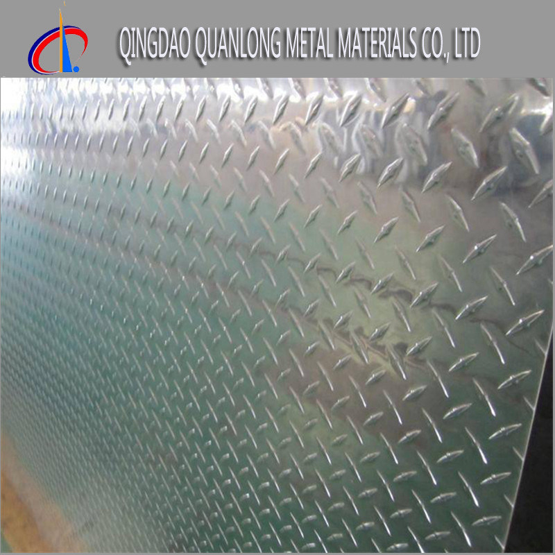 Diamond Pattern Checkered Stainless Steel Plate