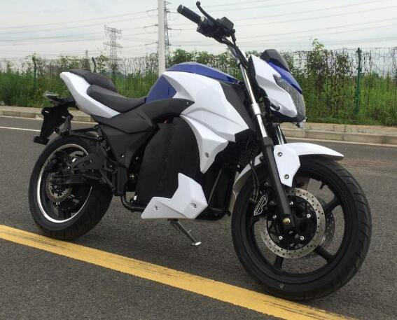 100km/H Speed Fast Electric Racing Motorcycle Motorbike HD4000-Dpx