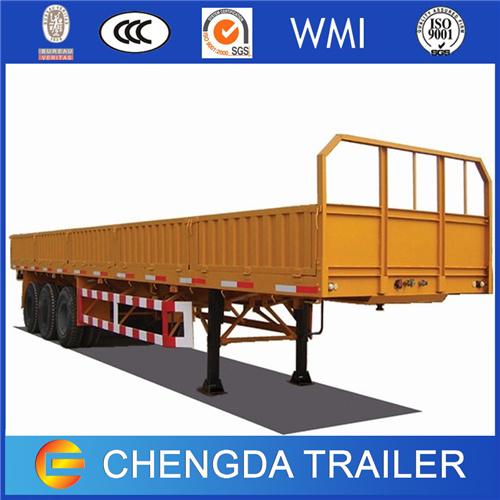 3 Axle 40 Ton Cargo Drop Side Trailer for Sale
