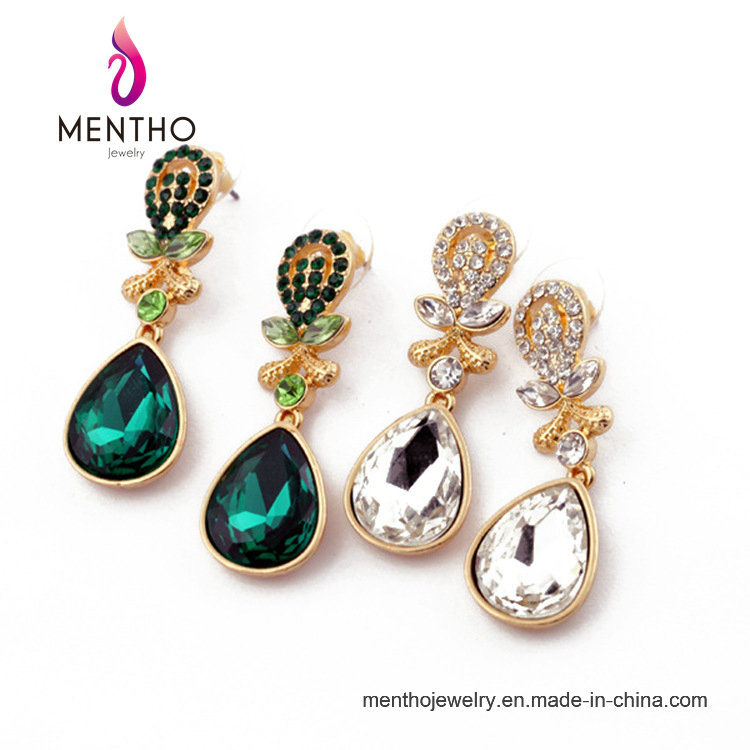 Wholesale High Quallity Fashion Water Drop Stud Earring Jewelry