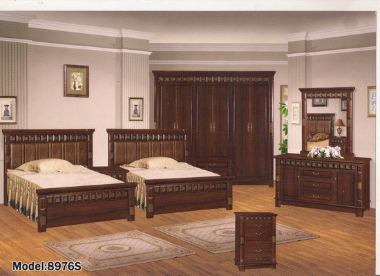 Twin Bedroom Set 8976S# - China Classical Furniture, Twin Bedroom Set