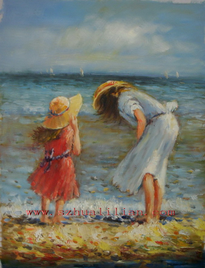 Amazing oil paintings oil paintings of kids for Oil painting for kids