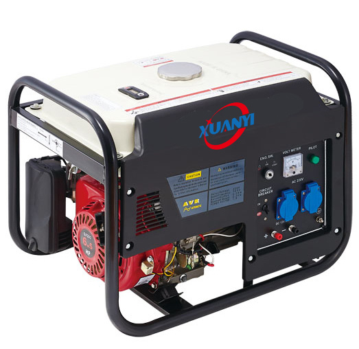 3kw 220V Loncin Single Phase Gasoline Portable Generator with Ce Soncap