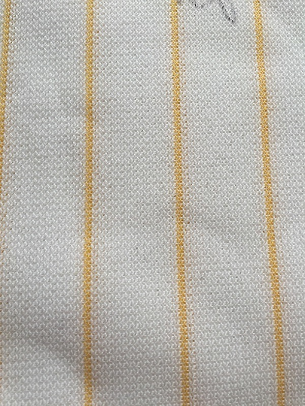 Yellow Line Microfiber Panint Roller Fabric