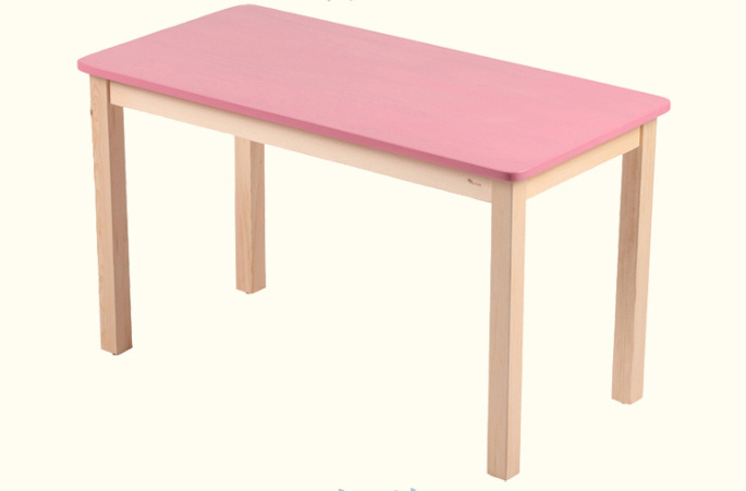 Colorful Wooden Table Children Study Table (M-X1078)