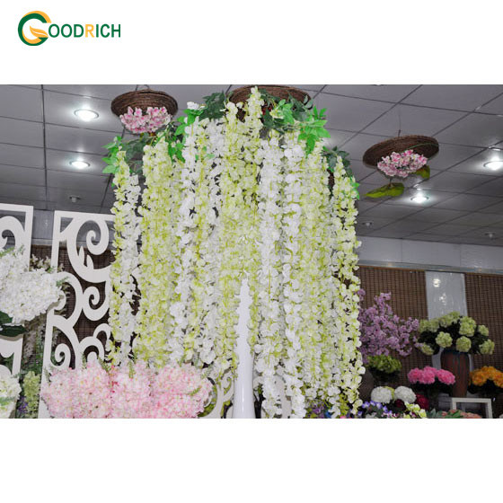 Hanging Artificial Flower Wisteria in Many Designs