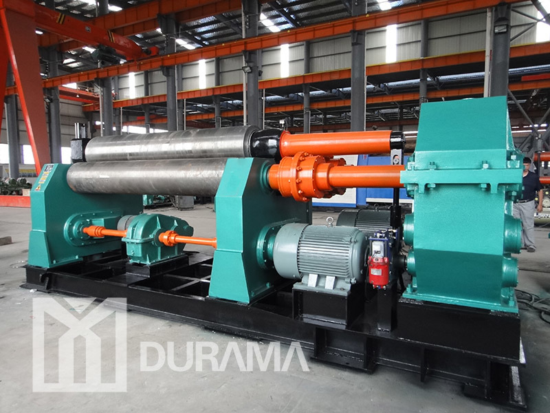 Three Roller Hydraulic Plate Rolling Machine