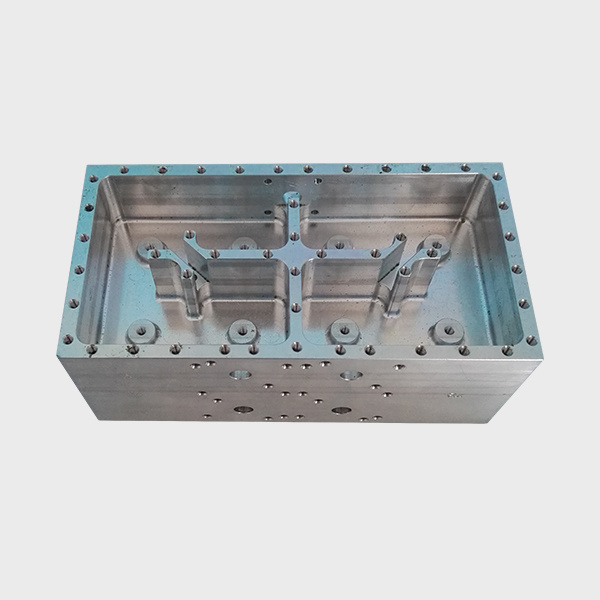 CNC Machining Aluminum Filter Housing, Machined Part