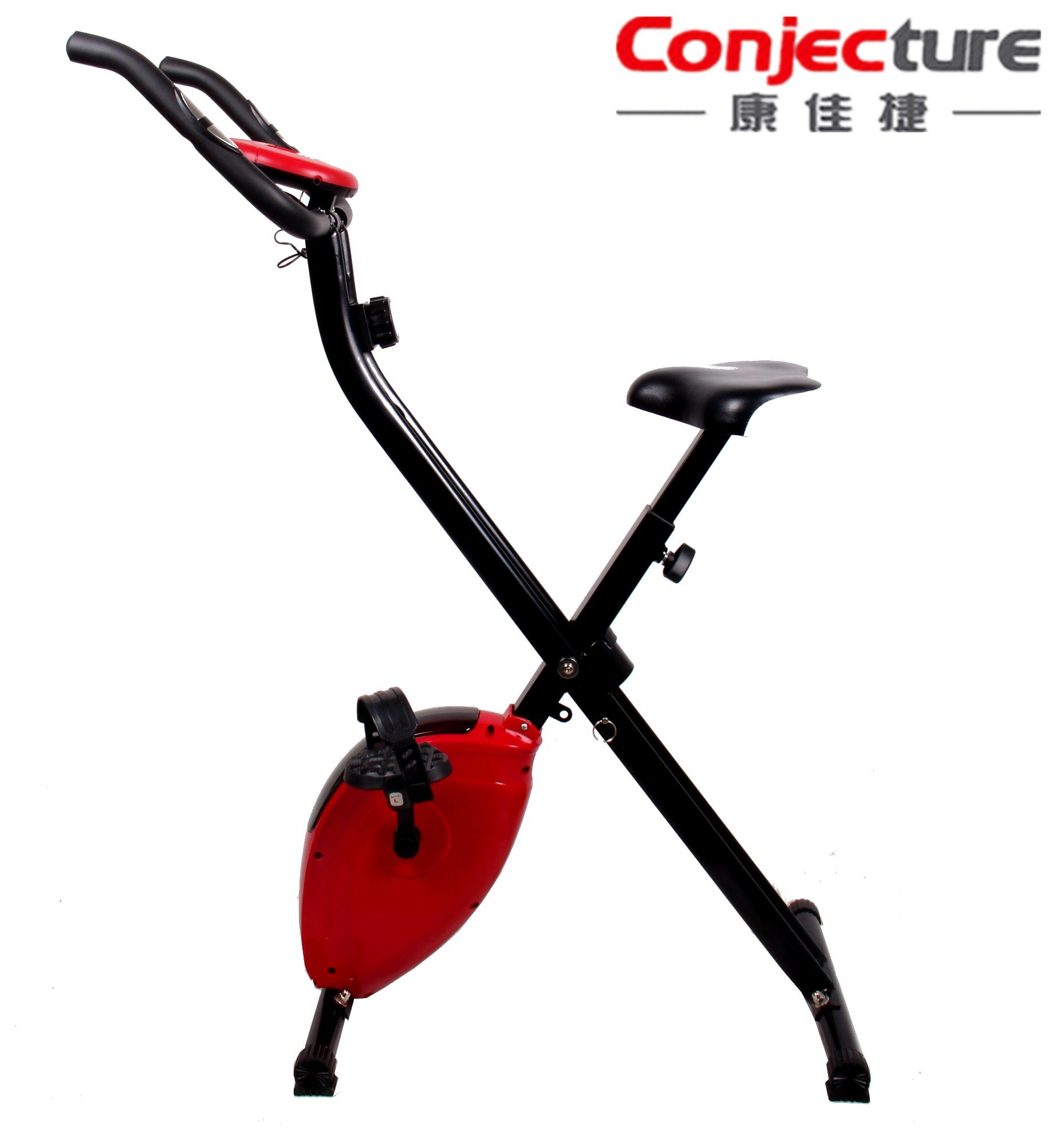 High Quality Fitness Equipment Sit up with Handle Exercise Magnetic Exercise Bike