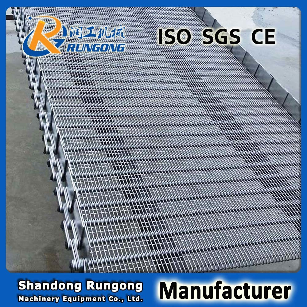 Conveyor System Eye Link Conveyor Belt Food Processing