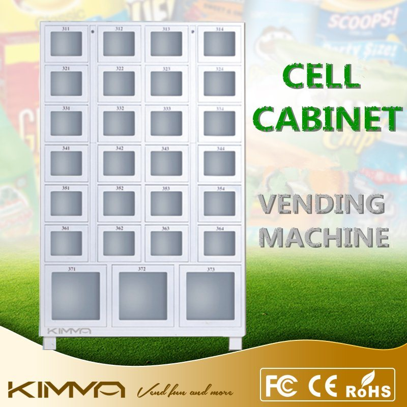 Cell Cabinet with Large Cell to Vend Big Size Items