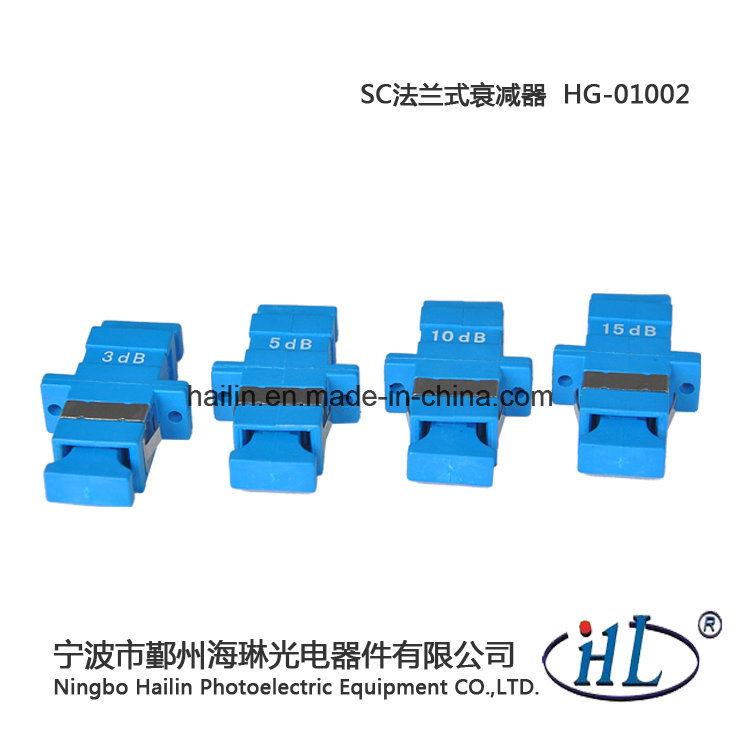 Fiber Optics Suppliers Sc Type Fiber Optic Fixed Attenuator 1-20dB