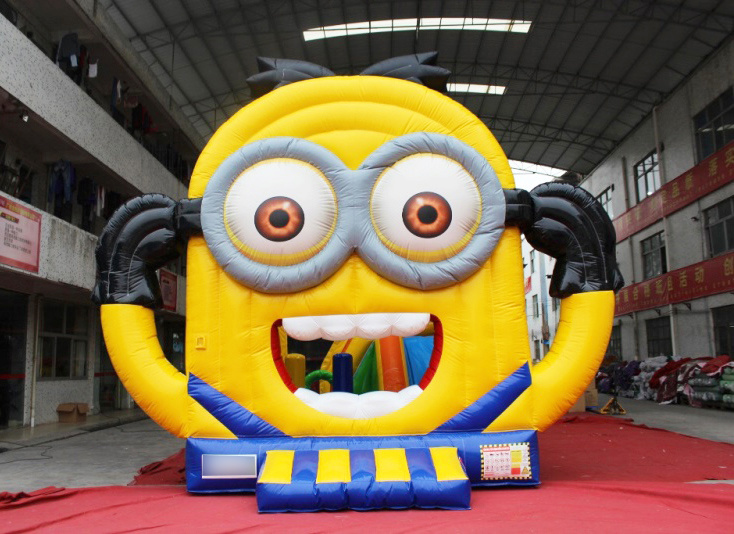Cartoon Inflatable Jumping Castle Bouncer for School Party