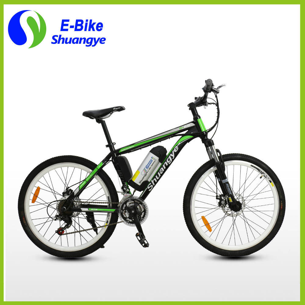 26′′ 36V Lithium Battery Mountain Electric Bike
