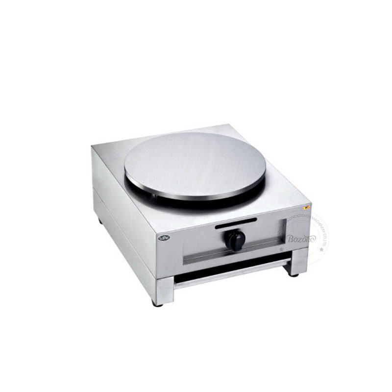 Commercial Single Plate Gas Electric Crepe Maker Pancake Machine