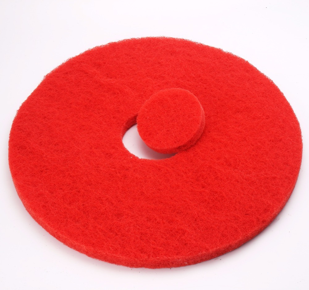 High Quality Red Colorful Polishing Abrasive Waxing Floor Pads