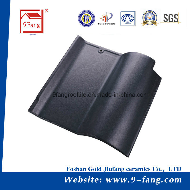Spanish 9fang Clay Roofing Tile Building Material Spanish Roof Tiles Corrucated 260*260mm