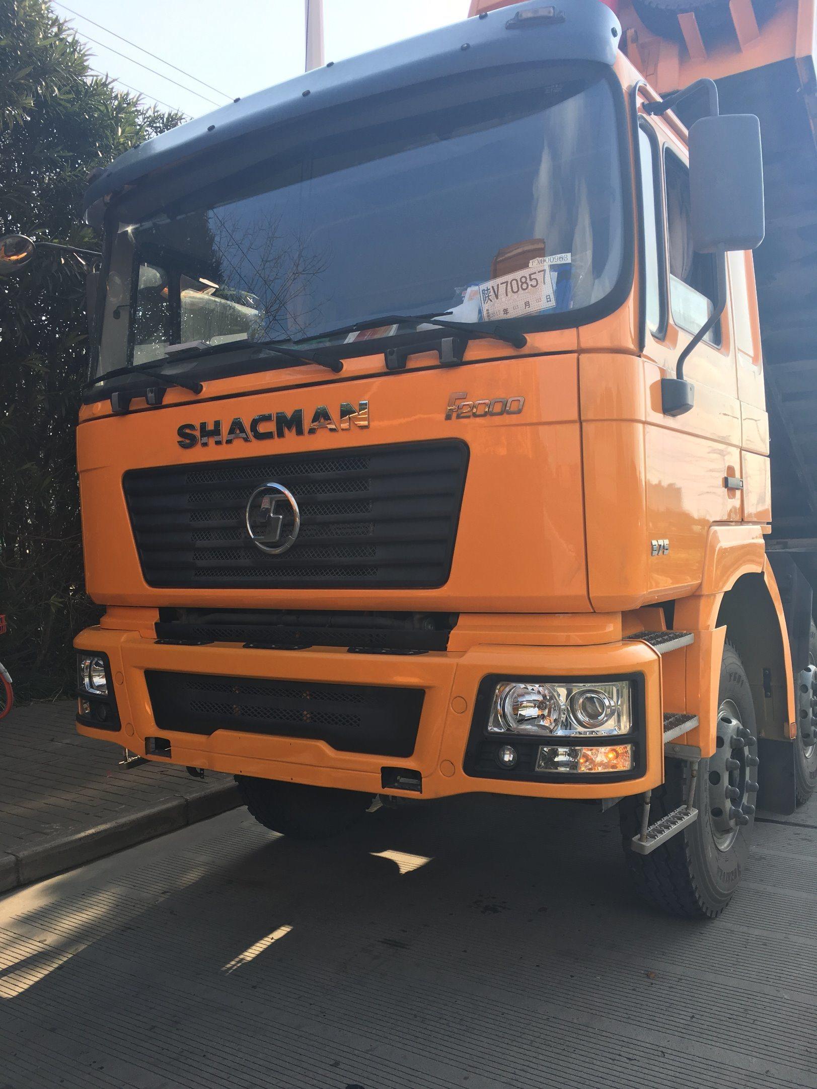F2000 8X4 Shacman Dump Truck 290HP Wei Chai Engine