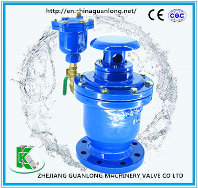 (FGP4X) Combination Type Double Orifice Vacuum Breaker Air Valve
