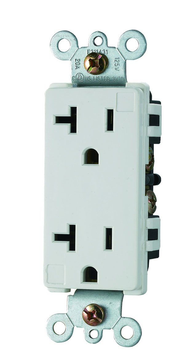 UL cUL Listing, Stand Duplex Electrical Receptacle