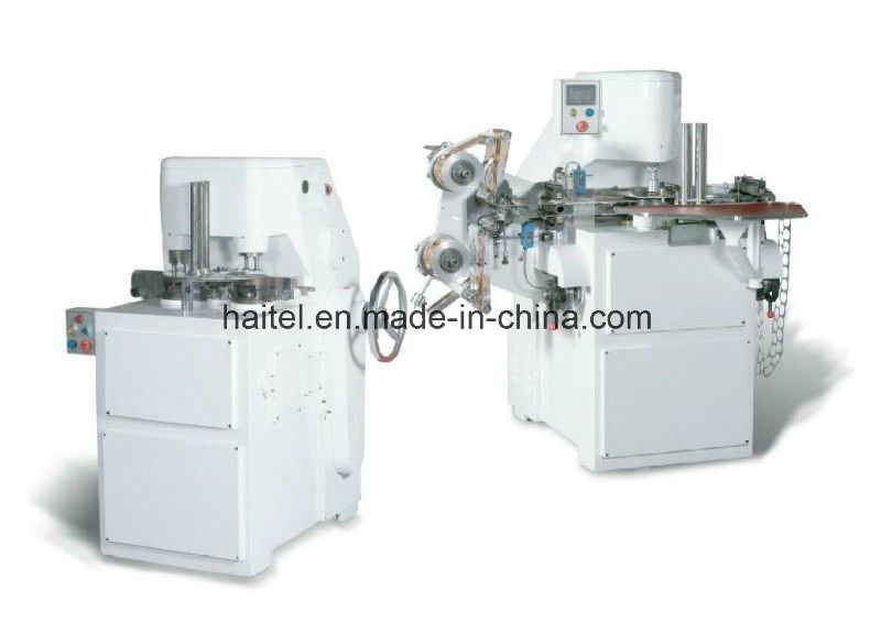 Covering & Knurling Machine for Coin Chocolate