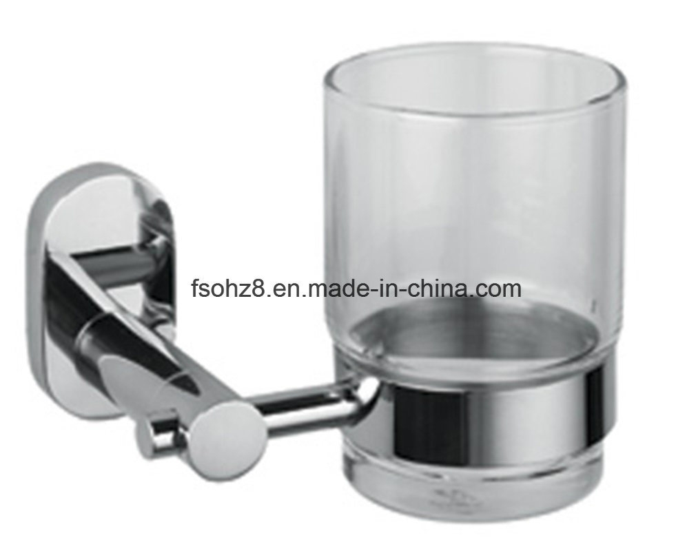 Bathroom Hardware Accessories Single Tap with Glass Cup (1201)