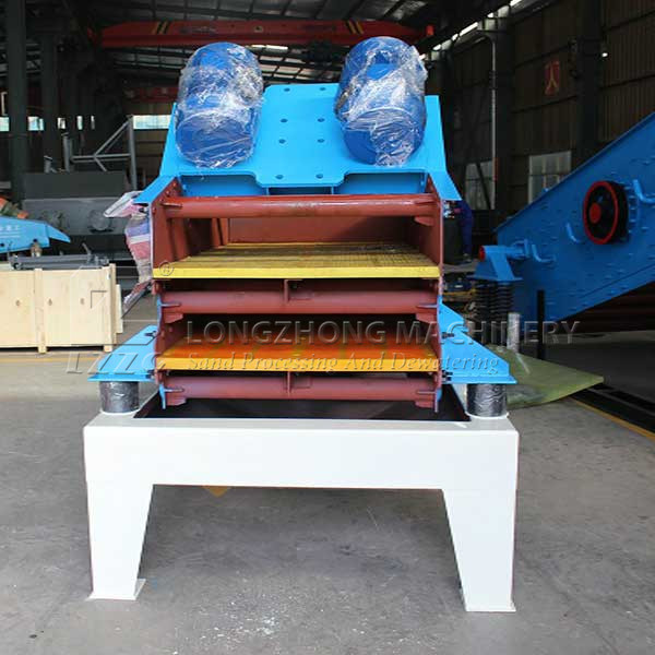 Double Deck Dewatering Vibrating Screen