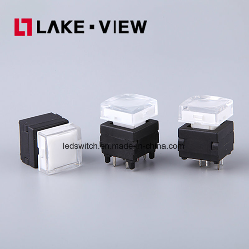 Silent LED Pushbutton Switch for Instrumentation and Communication Equipments