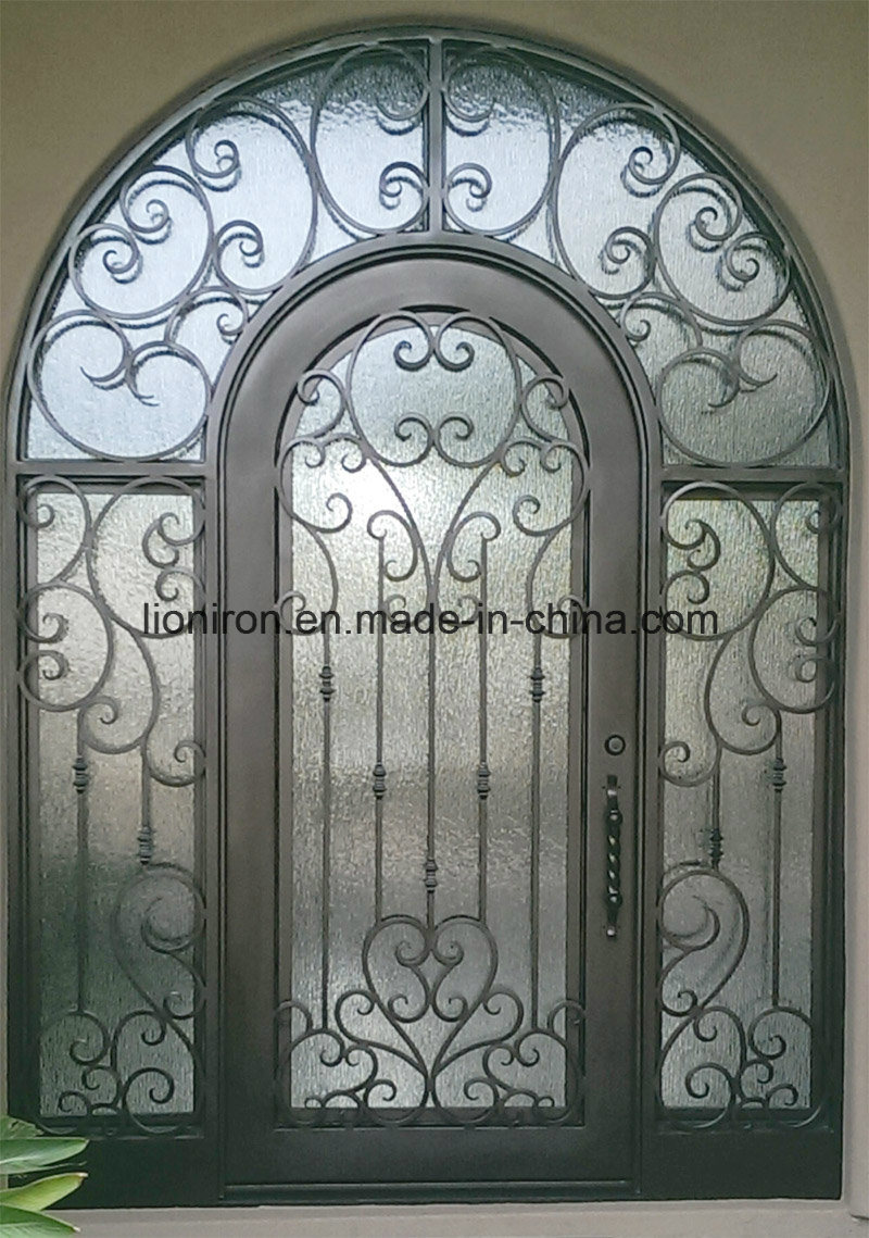 Good Price Iron Custom Single Entry Door for Garden