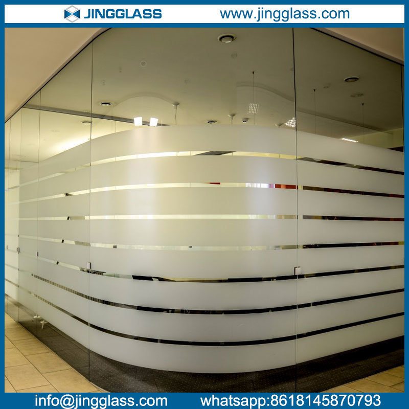 Tempered Curved Bent Glass Toughened Glass