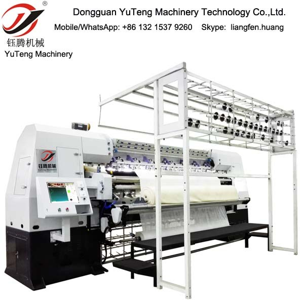 Computerized China Stitch Quilting Machine for Mattress and Duvet Quilt Yt-3000A