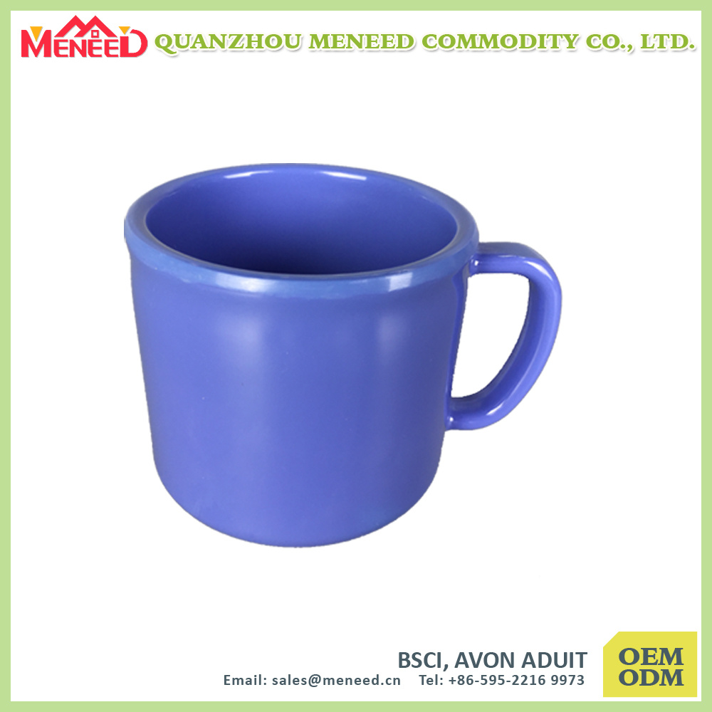 Coffee Shop Use Solid Color Melamine Coffee Mug