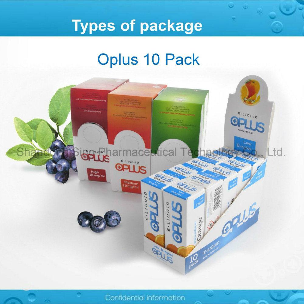 OEM Apple Flavor High Nicotine E Liquid for E Cigarette