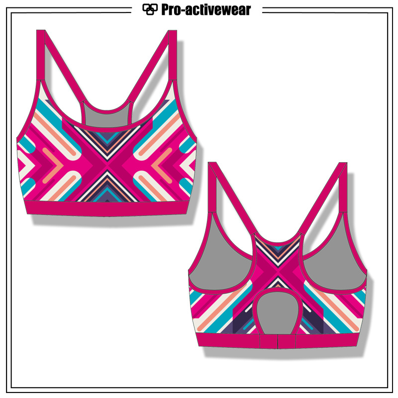 Breathable Dri Fit Singlet Fitness Yoga Tank Top Gym Wear for Ladies Fitness Running Custom Yoga Sports Bra